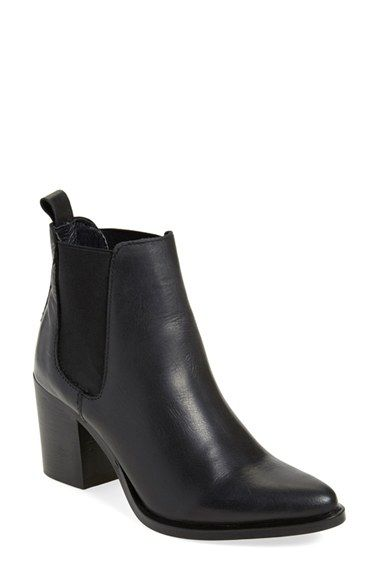 73f4b33167c Free shipping and returns on Steve Madden  Pistol  Bootie (Women) at  Nordstrom.com. A chunky block heel grounds a trend-right bootie shaped from  smooth ...