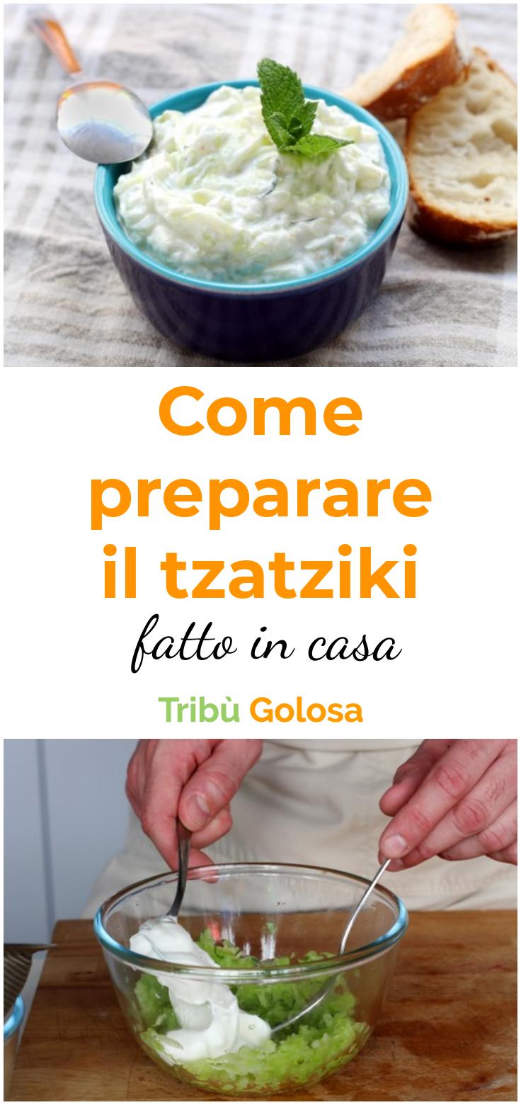 Tzatziki Ricetta Con Preparato.Come Preparare Il Tzatziki Fatto In Casa Ricette Salse Ricette Tzatziki