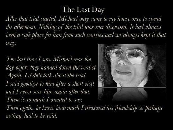 The Last Day An Excerpt From The Book Private Conversations At Neverland With Michael Jackson By Dr William Van Valen Michael Jackson Michael Michael J