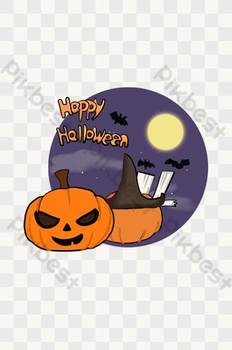 Halloween Pumpkin Bat Party Png Images Psd Free Download Pikbest Halloween Party Poster Halloween Pumpkins Halloween Scene