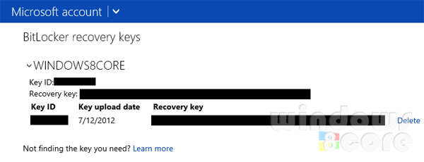 How To Get The Bitlocker Recovery Key For Your Surface With