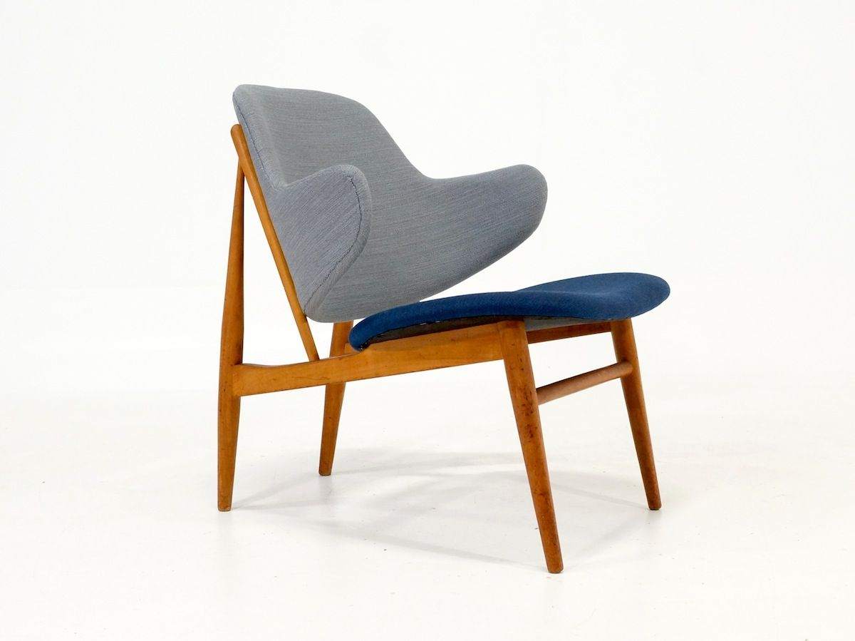 IB Kofod Larsen Easy Chair manufactured by Christiansen and Larsen