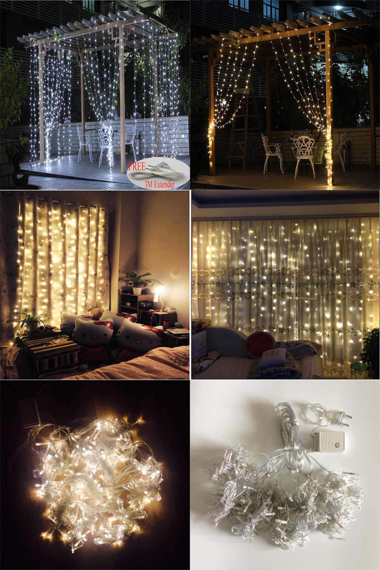 Visit to buy m x m led outdoor home warm white christmas