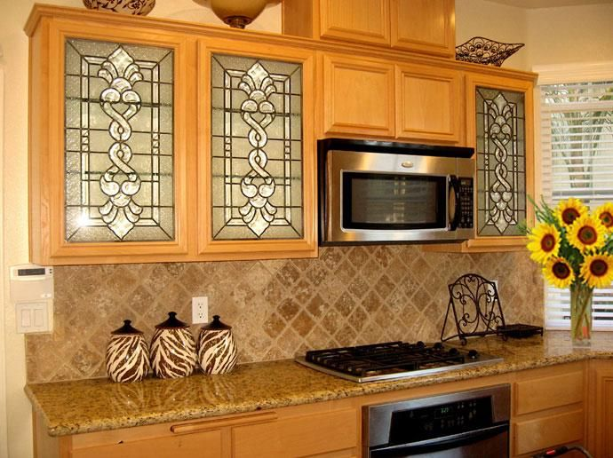 Custom cabinet door inserts beveled clusters and textured clear custom cabinet door inserts beveled clusters and textured clear glass to obscure items in the planetlyrics Images