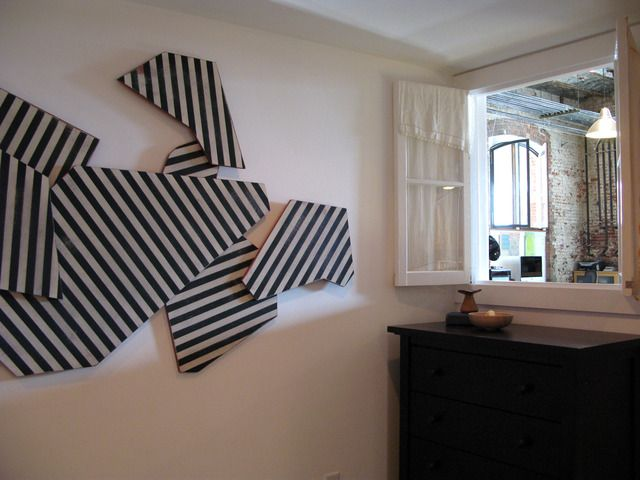 Cool and potentially easy wall art. | Studio | Pinterest | Apartment ...