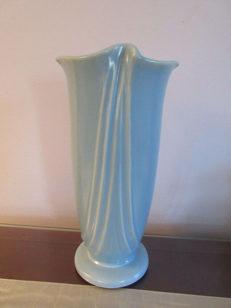 Art Nouveau Art Deco Weller Pottery Vase Nude by