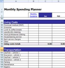 Free Expense Tracker Access Database Template  Easy Way To Manage