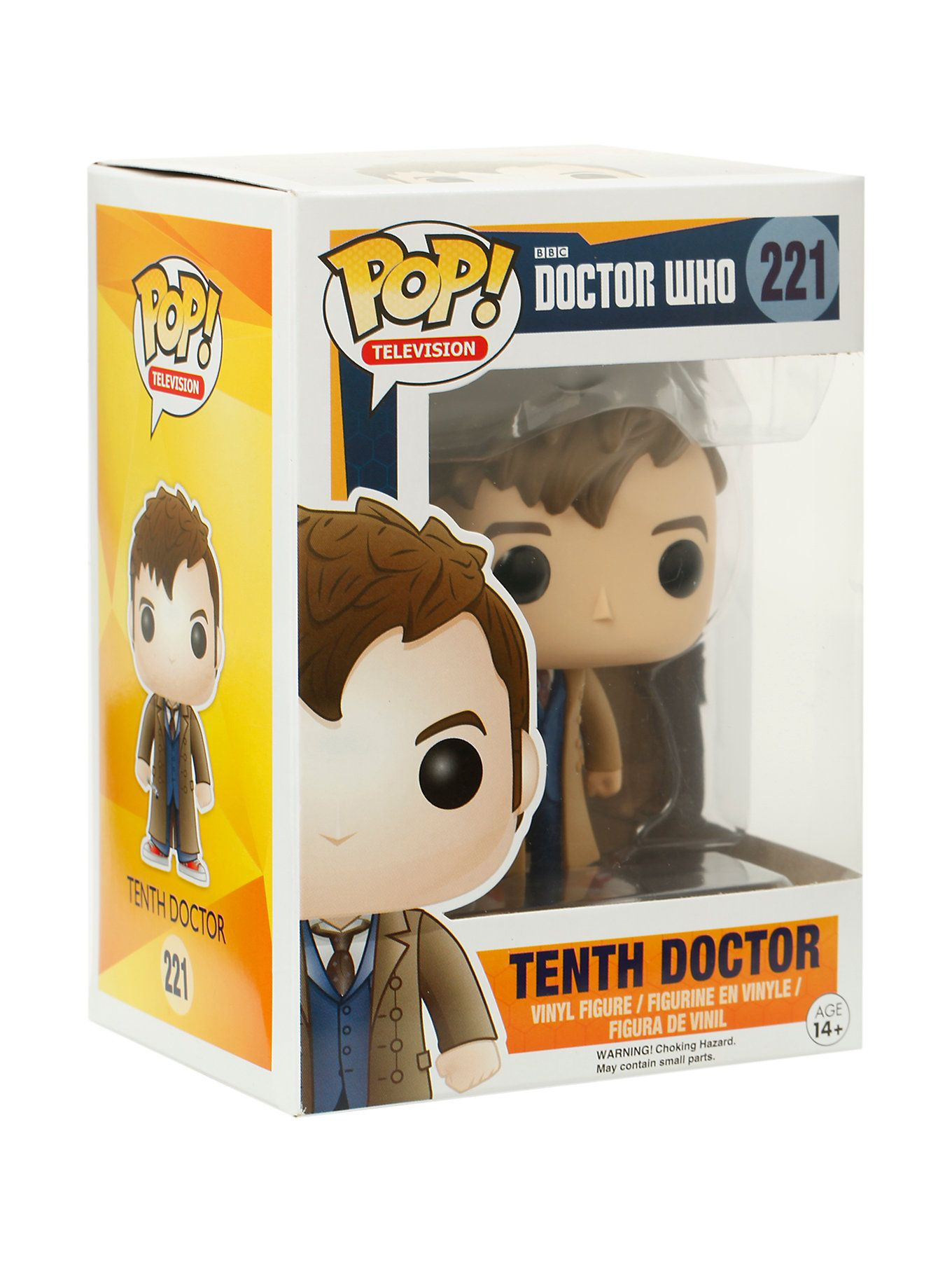 Funko Doctor Who Pop Television Tenth Doctor Vinyl Figure Vinyl Figures Doctor Who Tenth Doctor