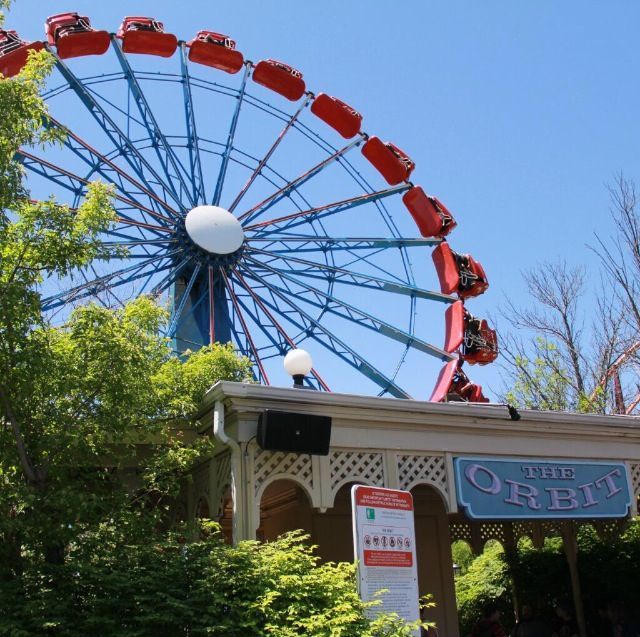 The Orbit Carnival Rides Great America Amusement Park