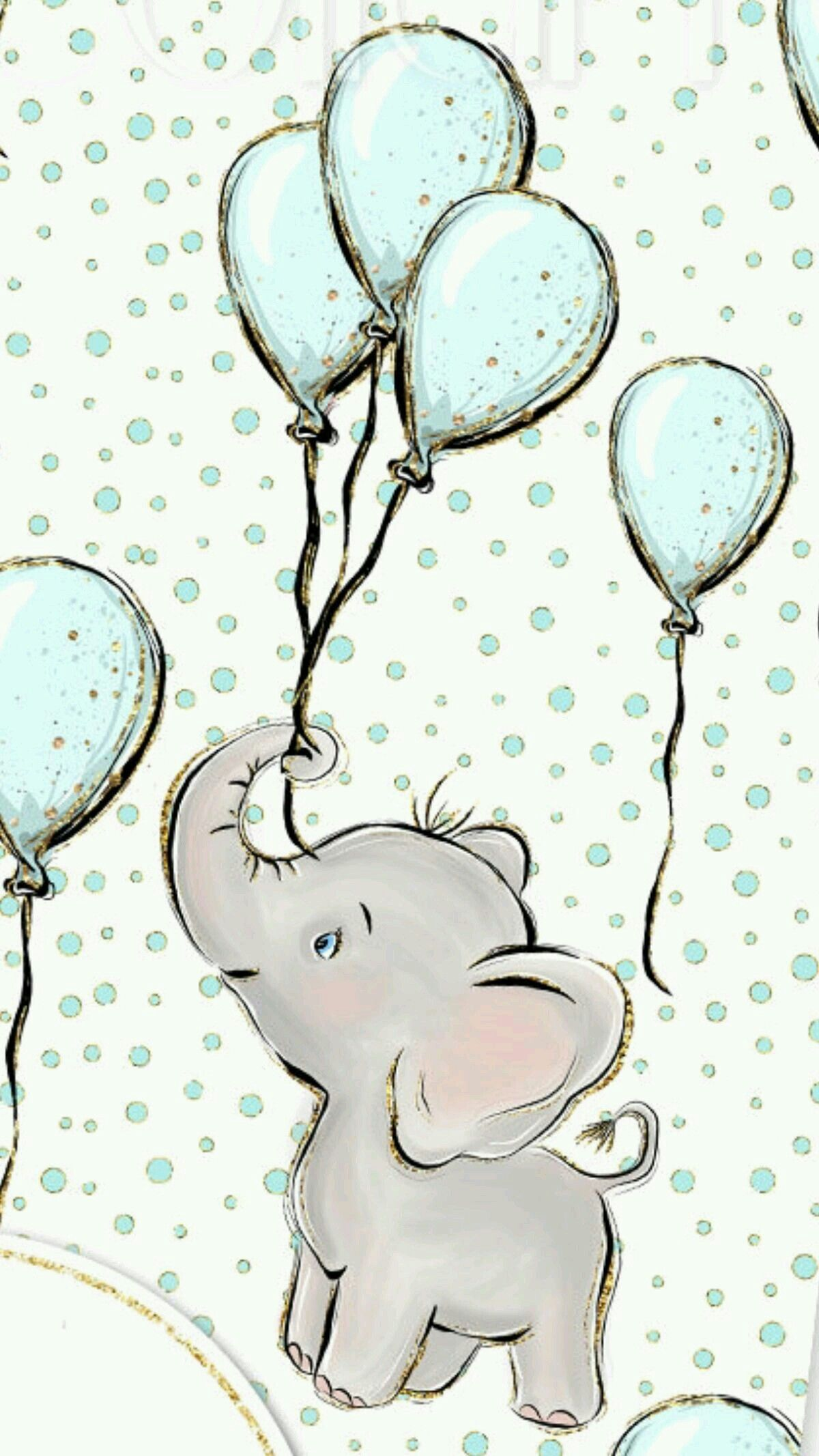 Pin By Melissa Lynn On Paisley Grace Baby Elephant Drawing Elephant Drawing Baby Clip Art