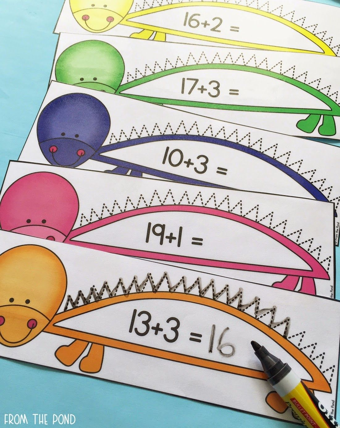 Dinosaur Addition Numbers Craft And More
