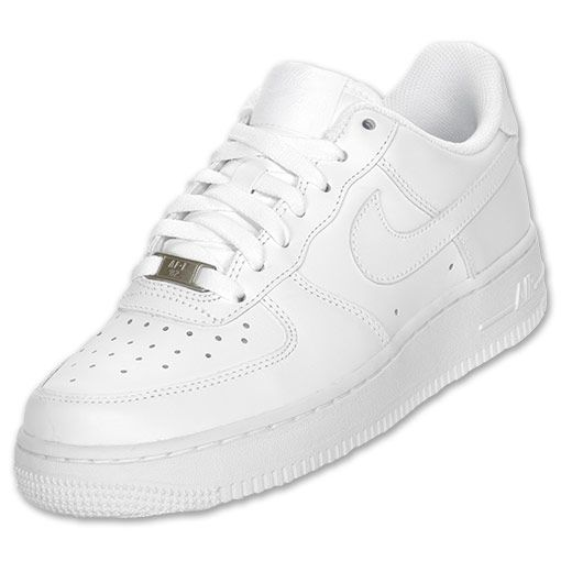 Nike Women\u0027s Air Force 1 Low Basketball Shoes | FinishLine.com | White