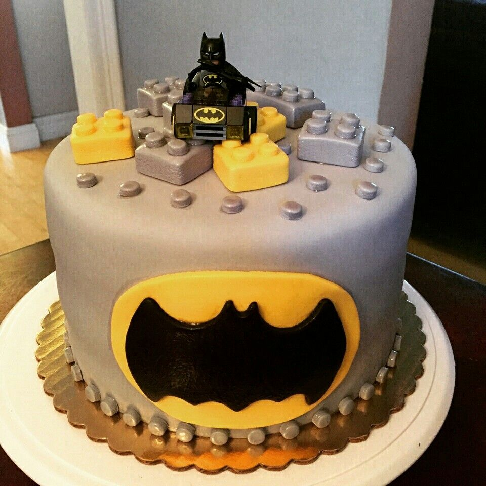 Lego Batman Cake My Theme Birthday Cakes