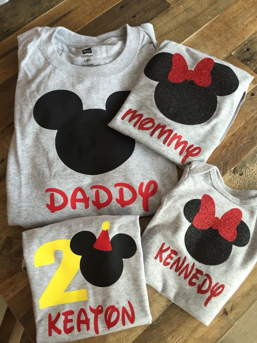 Disney Birthday Shirt By ShopCarlysCustoms On Etsy