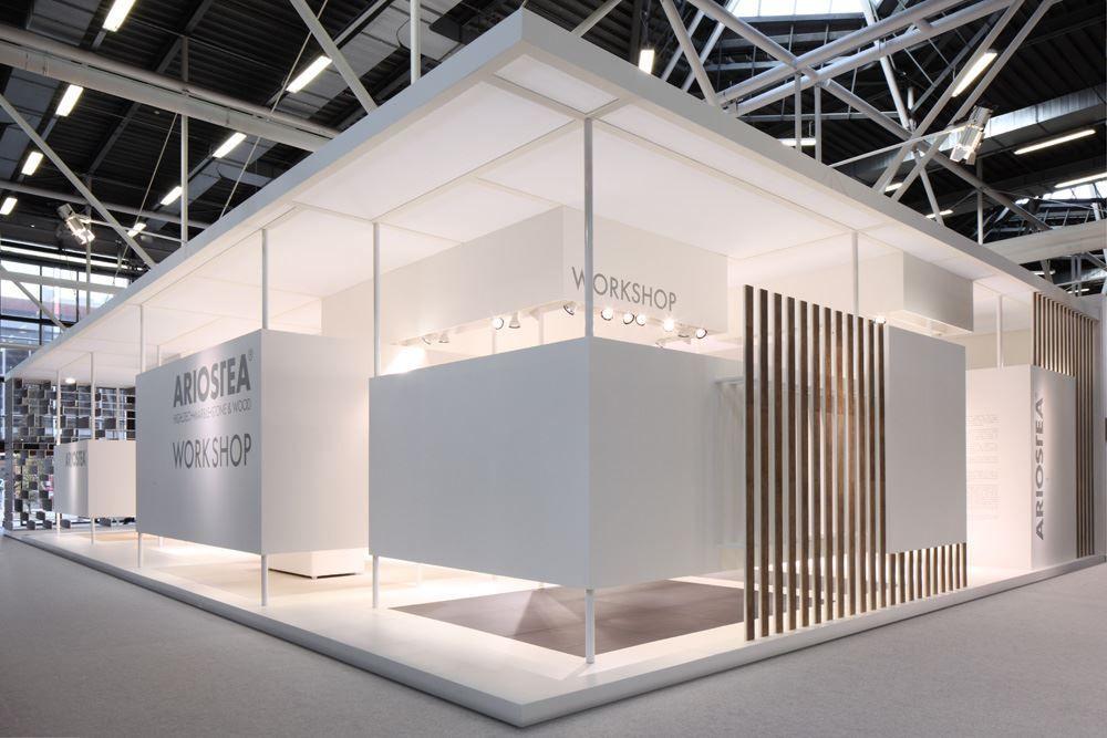 Stand ariostea picture gallery exhibition stand for Imitazioni lampade design
