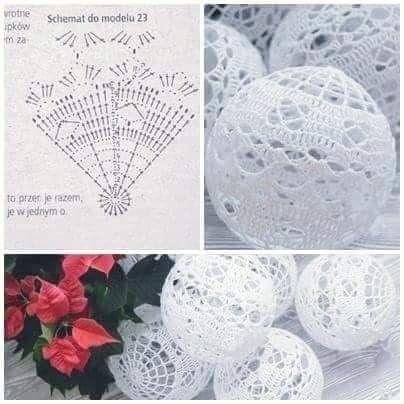 Pin By Malgosia On Natale Christmas Crochet Patterns Christmas Crochet Crochet Xmas