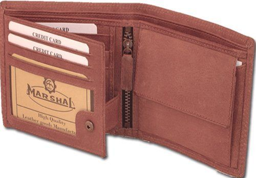Mens wallet with snap style - HU1533 Marshal. $22.00