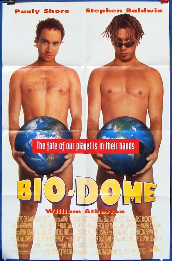 1996 Bio Dome Pauly Shore And Stephen Baldwin Pauly
