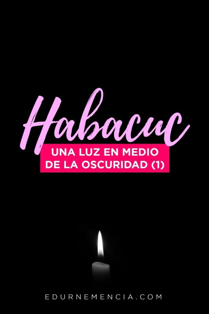 Comenzamos hoy con el estudio de Habacuc. El profeta está ...