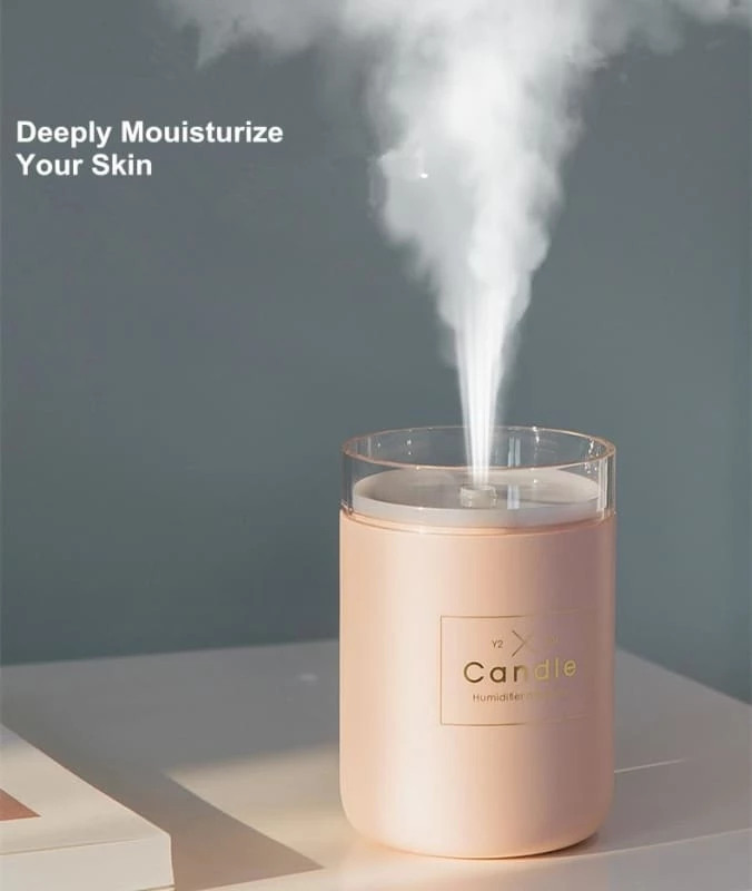 Mini Car Air Humidifier Diffuser Essential Oil Ultrasonic Aroma Mist Purifier SK