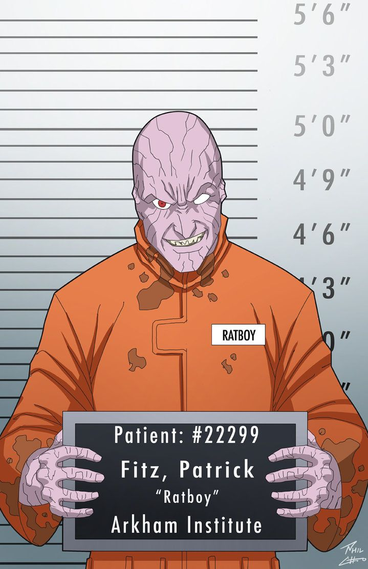 Patrick Fitz Locked up commission by phil-cho on DeviantArt