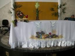 Resultado de imagem para riscos para pintura em toalhas de altar