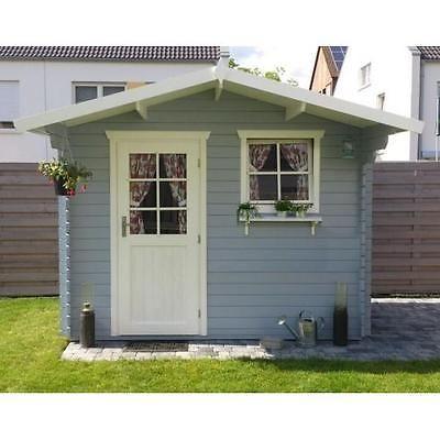 Amazing  mm Gartenhaus Schweden x cm Holz Ger tehaus Blockhaus Schuppen