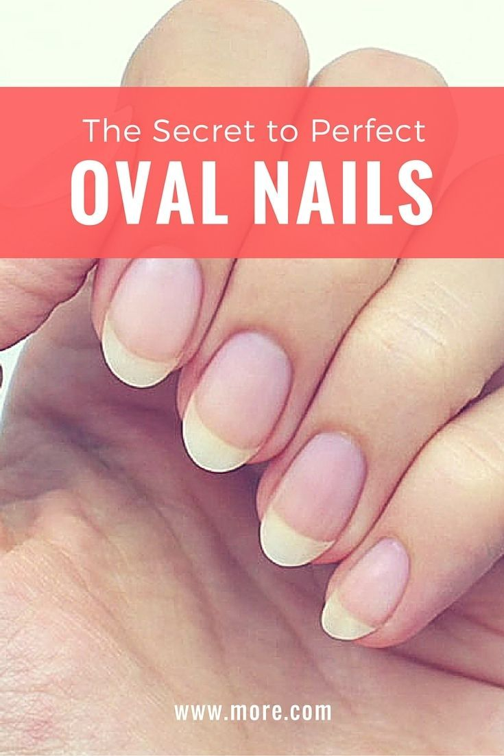 Ever Wanted Perfect Oval Shaped Nails This Nail Tutorial Shows You How To