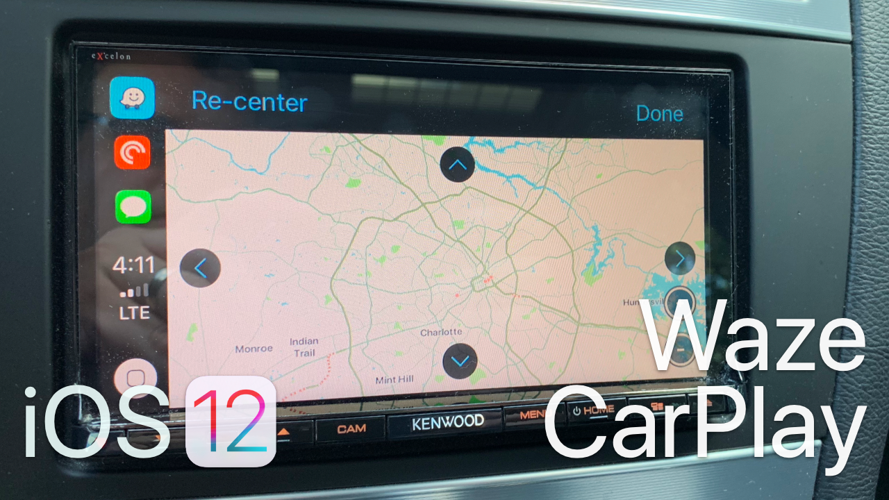 iOS 12 – Waze on Apple CarPlay | Zollotech Wallpaper | Apple, Ios, Car