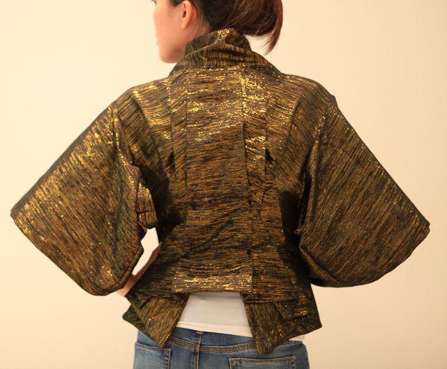Handmade and Fabulous: Alexander McQueen\'s Kimono Jacket   Nähen