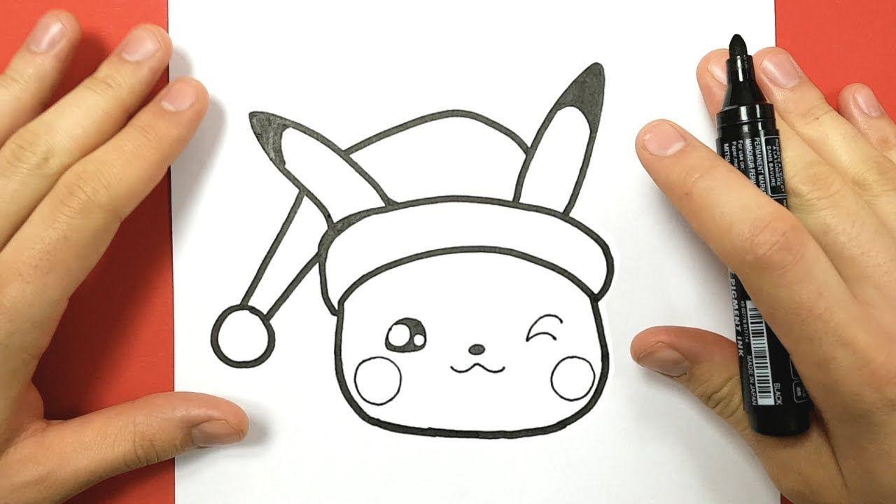 Comment Dessiner Pikachu Kawaii Pour Noel Youtube Dessin Pikachu Comment Dessiner Pikachu Coloriage Pikachu