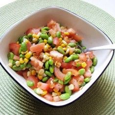 Edamame Corn Salad: Cook Book of Trial and Error
