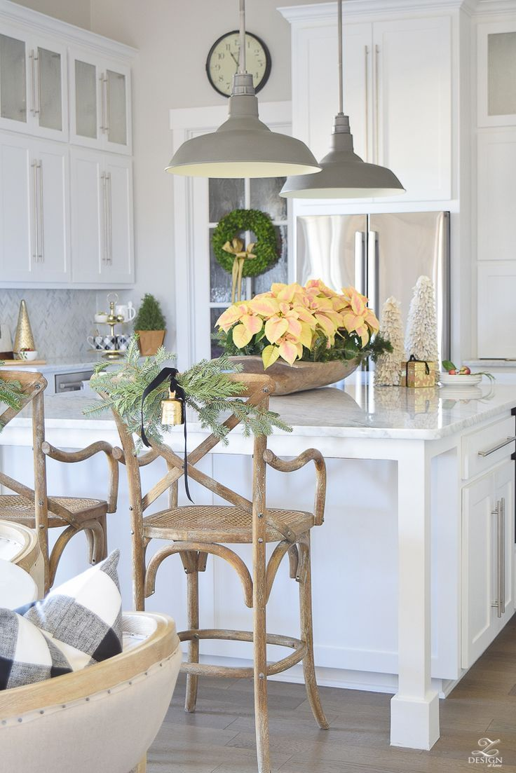 Christmas in the kitchen with kitchens farmhouse kitchens and