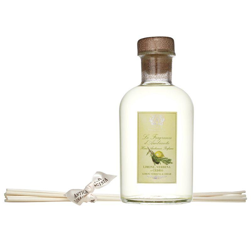 Antica Farmacista - Home Ambiance Limone, Verbena & Cedar Fragrance Diffuser 17 fl oz/500 ml