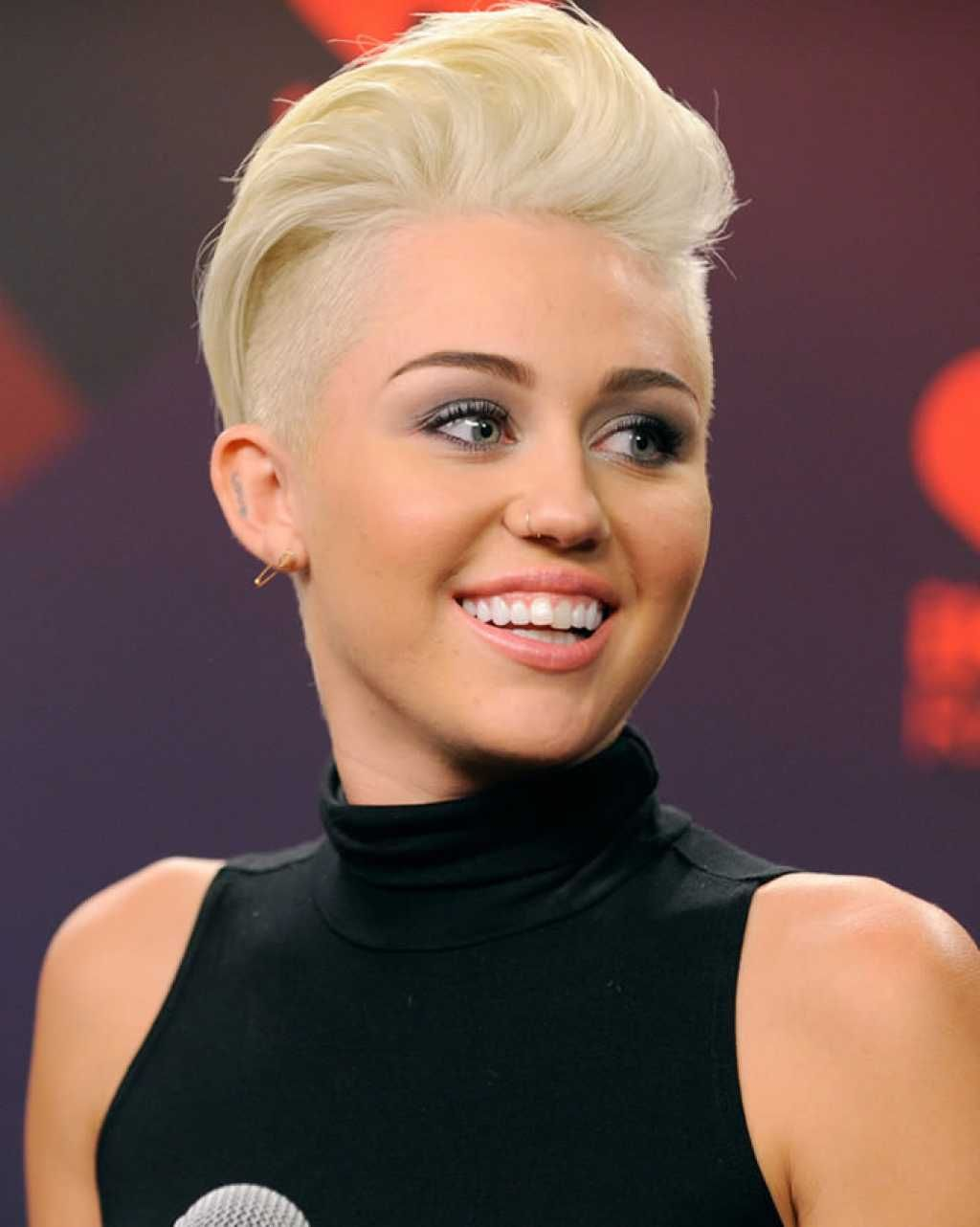 Trendy short haircut with shaved sides onelady hair