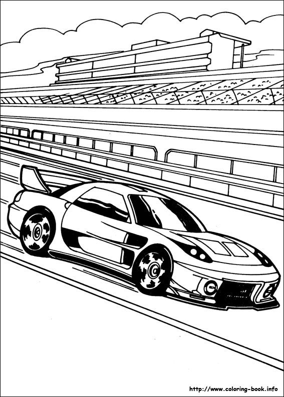 Hot Wheels coloring picture | vehicles | Pinterest