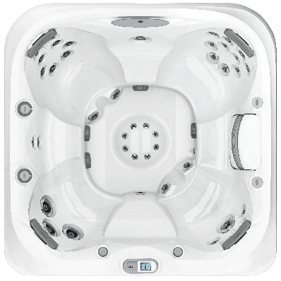 J 445 7 Foot Open Seating Spa Hot Tub Outdoor Hot Tub Seating Options