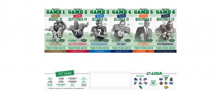 North Texas 2013 Football Tickets (With images) Football