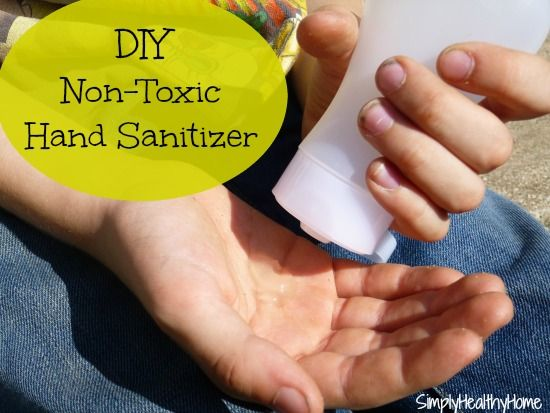 Diy Non Toxic Hand Sanitizer With Essential Oils Recipe