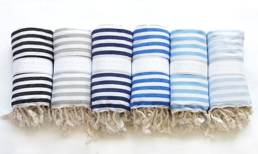 Authentic Turkish Towel Beach Candy Towel Turkish T Exclusive