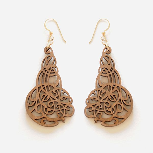 Filigree Earrings Vancouver designer Alex Henderson of ...