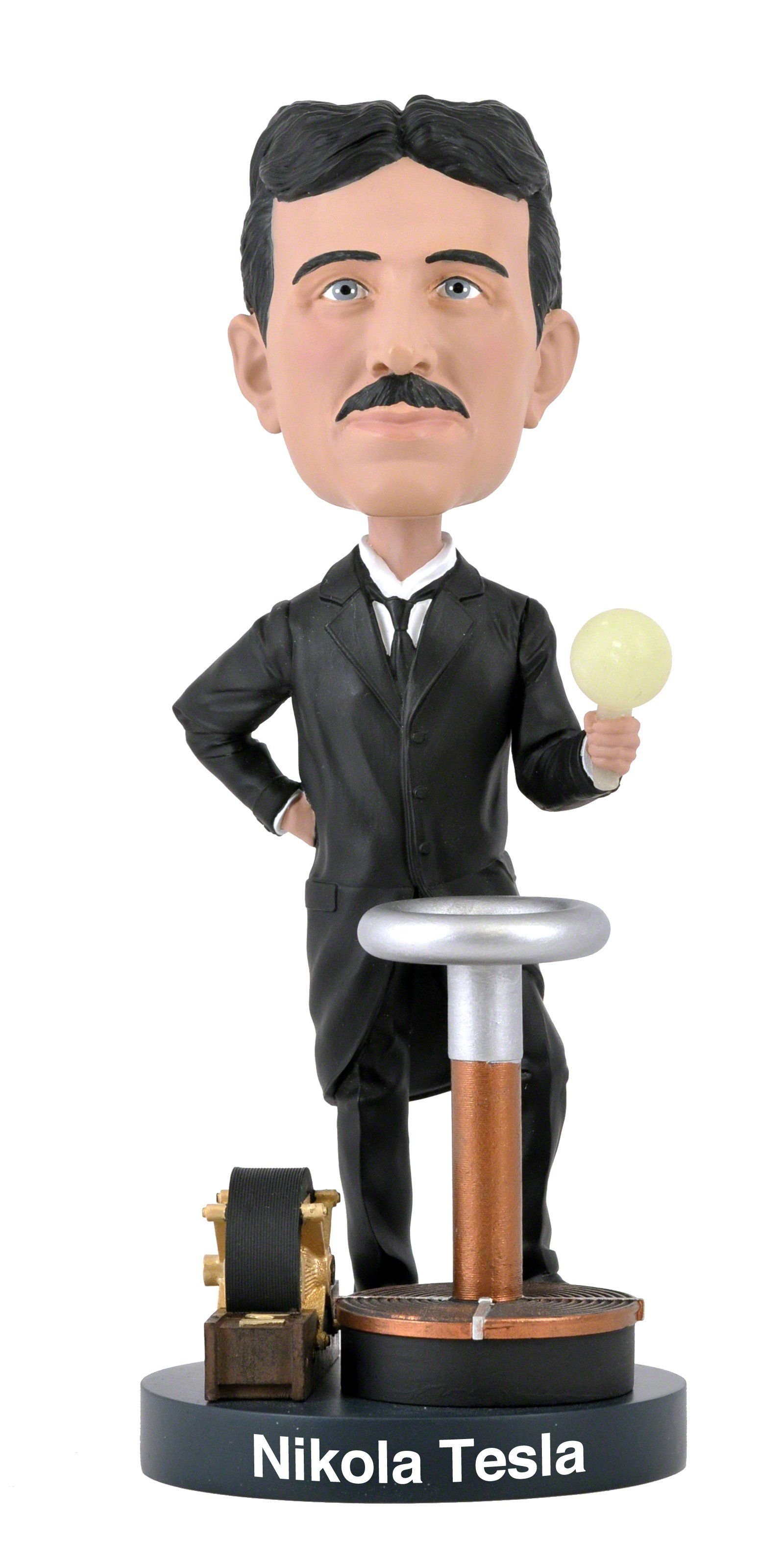 Nikola Tesla Collector Bobblehead