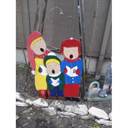 Christmas Caroler Holiday Yard Decorations from Alans Creations