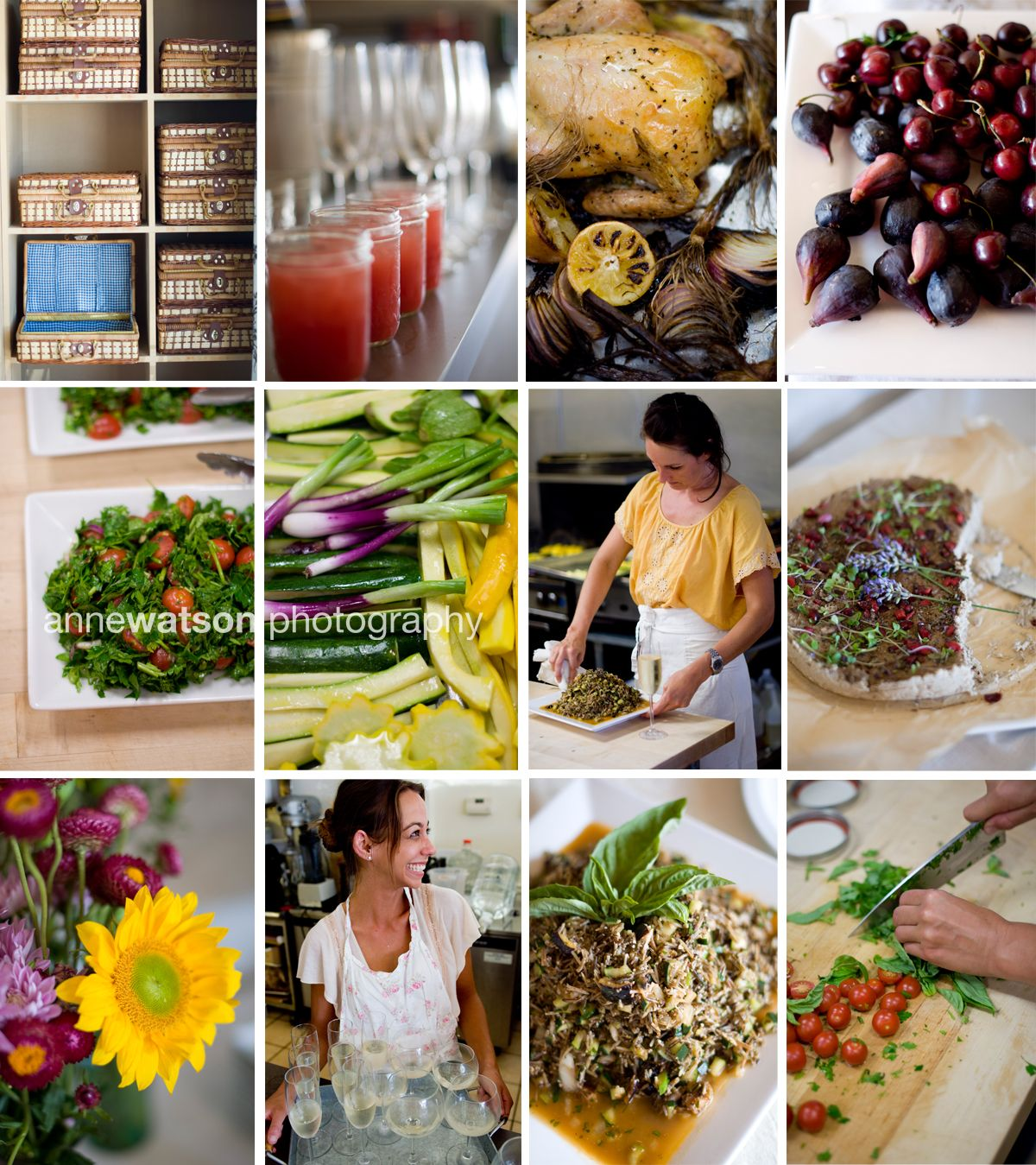 Farm-to-Table freshness abounds at the Picnics Kitchen inaugural Farmers' Market Feast!
