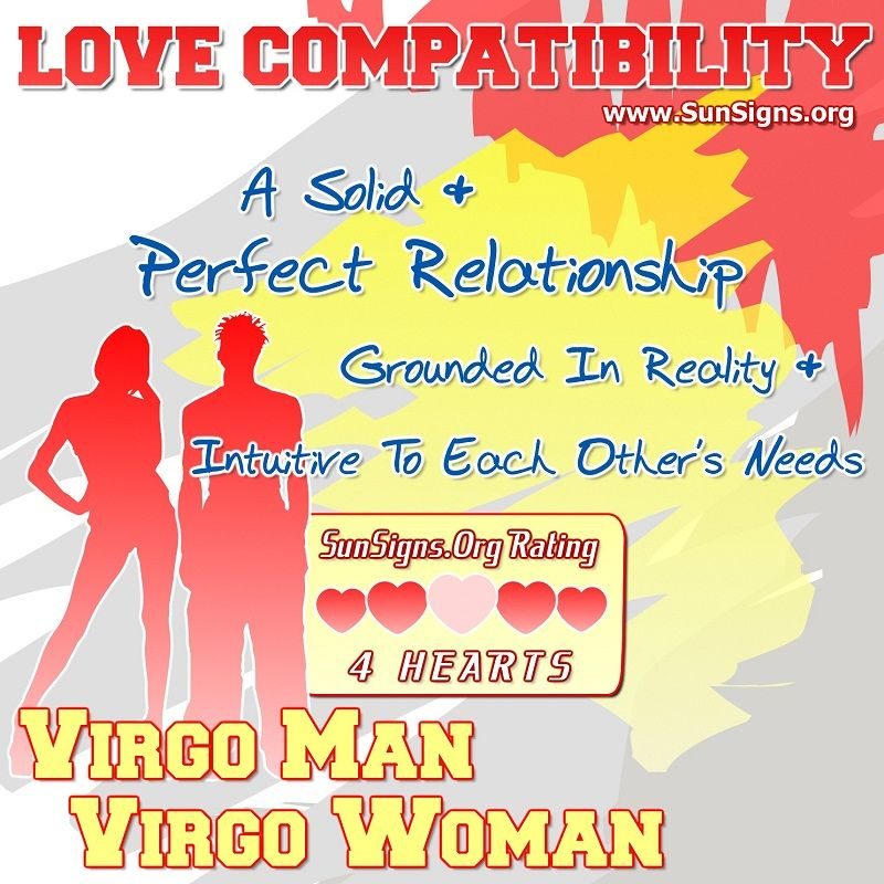 Virgo Man And Virgo Woman Love Compatibility  Sun Signs -8789