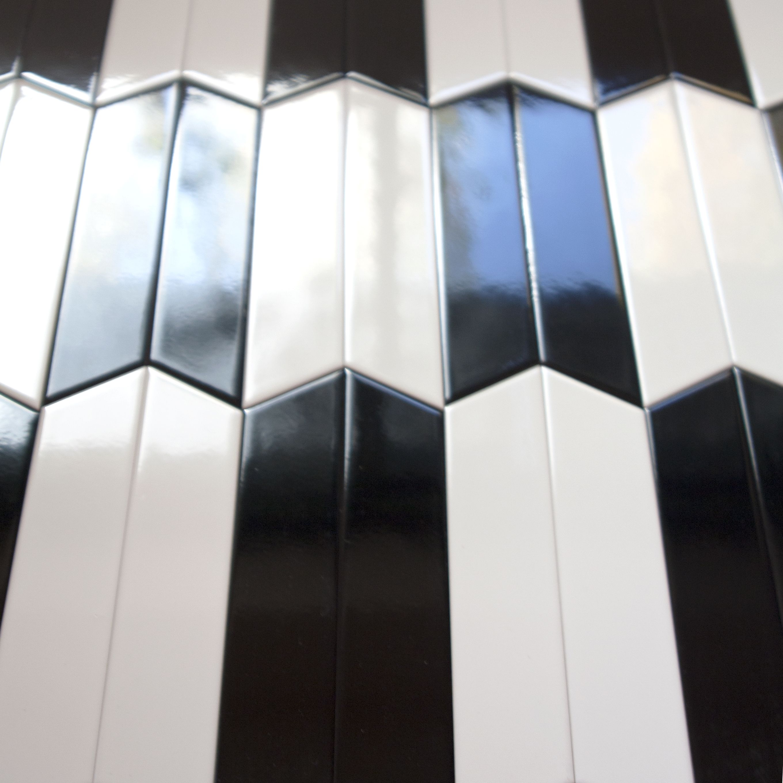 Tonalite collezione arrow silk 23x5 7 colori lucidi posa - Posa piastrelle ...