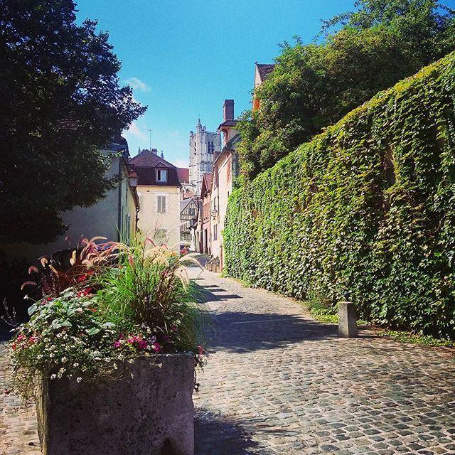 Les jolies rues auxerroises. #Auxerre #yonne  #bourgogne
