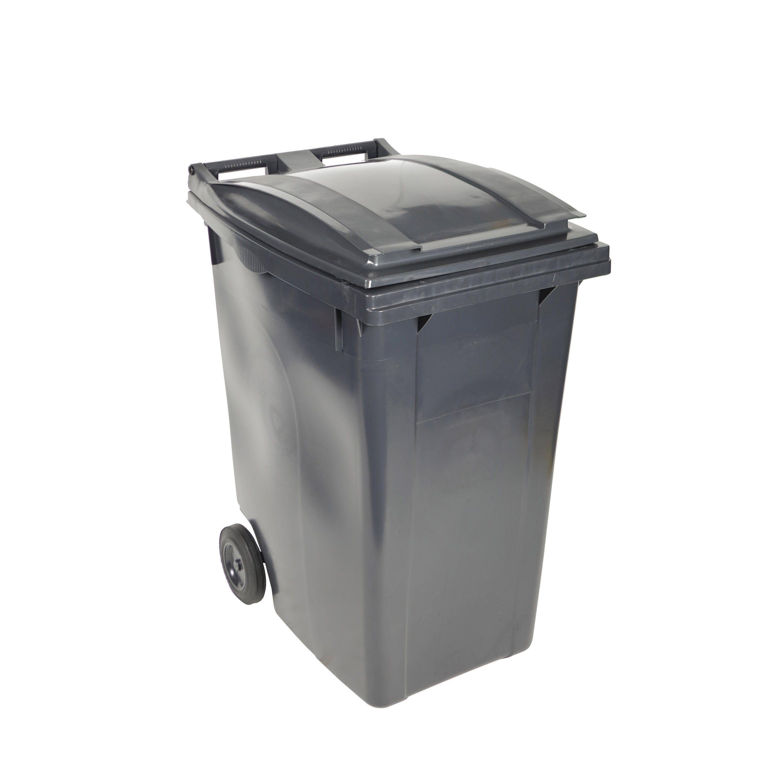 Cuve Anthracite Citybac 360 L H 109 5 X L 62 X P 85 Cm Sulo Bac Poubelle Tri Selectif Et Collecte Des Dechets