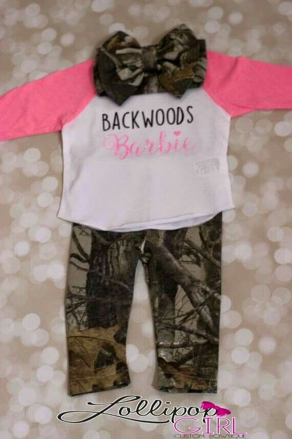 a1d6ba526 Baby Backwoods Barbie Cute Baby Clothes, Baby Girl Camo Clothes, Baby Time,  Future