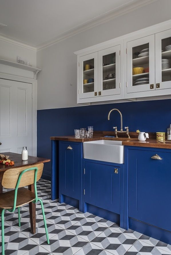 A Bold Retroinspired Kitchen From British Standard  British Awesome Standard Kitchen Design Design Decoration
